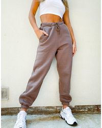 ASOS Co-ord Oversized jogger - Brown