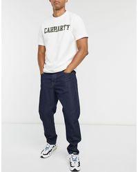Carhartt WIP Newel - Jean coupe ajustée décontractée - délavé - Bleu