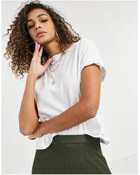 New Look T-shirt squadrata bianca - Bianco