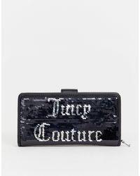 Juicy Couture Juicy Black Label - Laton - Porte-monnaie à sequins - Noir
