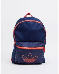 adidas Originals - Темно-синий Рюкзак С Логотипом-трилистником -черный - Lyst