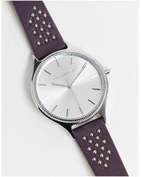Karen Millen Navy Strap Watch - Blue