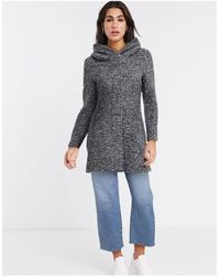 ONLY Lally Boucle Wool Coat - Gray