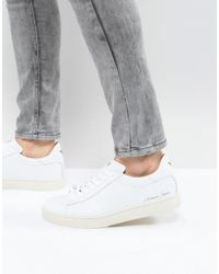Armani Jeans - Logo Trainers In White - Lyst