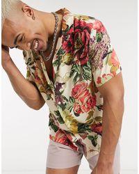 ASOS Regular Revere Shirt - White
