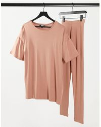 Missguided T-shirt And legging Set - Multicolour