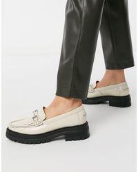 ASOS Milan Premium Chunky Leather Loafer - Multicolour