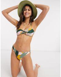 Vero Moda Bandeau Bikini Bottom - Multicolour