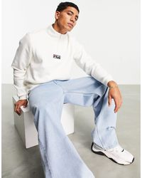 Fila – sweatshirt - Weiß