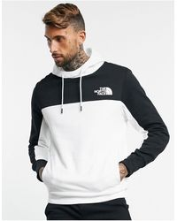 The North Face – Himalayan – Kapuzenpullover in - Weiß