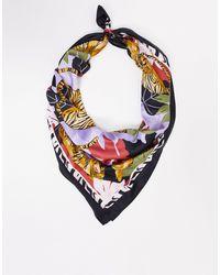 & Other Stories Bufanda ligera con estampado animal - Multicolor