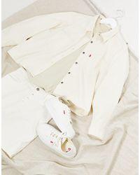 Levi's Utility Denim Shirt - White