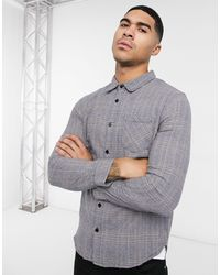 Another Influence Heritage Check Shirt - Black