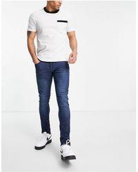 Tom Tailor Culver - Jeans skinny lavaggio blu medio