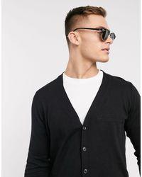 ASOS Knitted Cardigan - Black
