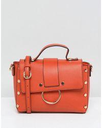 New Look - Stud Ring Detail Cross Body Bag - Lyst