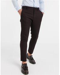ASOS Wedding Skinny Suit Trousers - Black