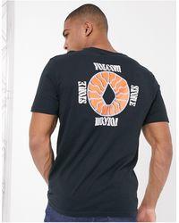 Volcom - Surprise - T-shirt nera - Lyst
