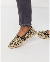 London Rebel Flat Toe Cap Espadrilles - Multicolour