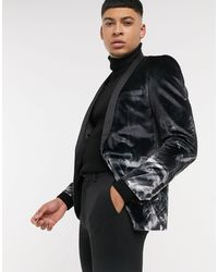 Twisted Tailor Americana negra - Negro