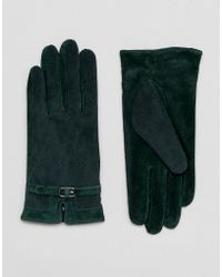 Barneys Originals - Real Leather Gloves - Lyst