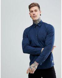 Jack & Jones   Vintage Shirt In Slim Fit Cotton Linen   Lyst