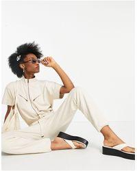 AllSaints Kayla Utility Jumpsuit - White