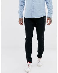 SELECTED - Slim Fit Organic Cotton Jeans - Lyst