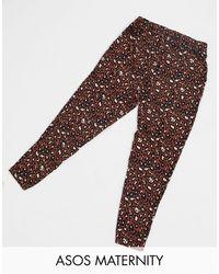 ASOS - Pantalones peg leg - Lyst