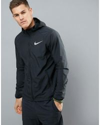 Nike - Essentials Jackets In Black 856892-010 - Lyst