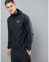 Nike - Essentials - Giacca nera 856892-010 - Lyst