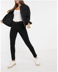 Superdry Superflex Skinny High Rise Jeans - Black