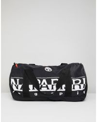 Napapijri - Bering 1 Packable Duffel Bag In Black - Lyst