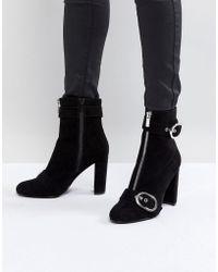 Faith - Bowey Zip And Buckle Boots - Lyst