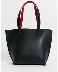 Truffle Collection Large Tote Bag - Black