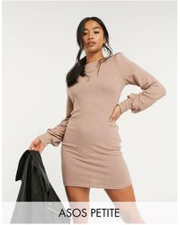 ASOS - Asos Design Petite Mini Dress - Lyst