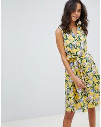 Moon River - Marigold Floral Dress - Lyst