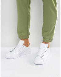 adidas Originals Белые Кроссовки Stan Smith S75104-белый