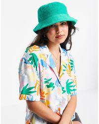 Pull&Bear Зеленая Панама -зеленый Цвет