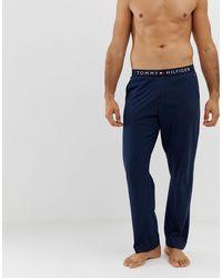 Tommy Hilfiger Jersey Loungewear Trousers - Blue