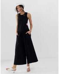 855fd873098 Dr. Denim - Wide Leg Jumpsuit - Lyst