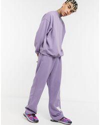 Jaded London Jogger teint - Violet