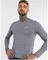 Nike Серый Лонгслив Essentials