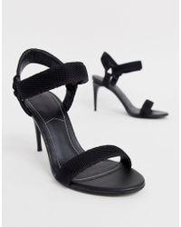 Kendall + Kylie - Minimalistische Sandalen Met Hak - Lyst
