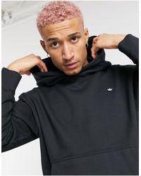 adidas Originals Премиальный Худи Черного Цвета От Комплекта -черный Цвет