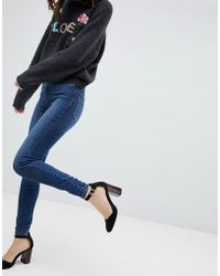 Vero Moda - High Waisted Skinny Jean - Lyst