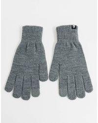 Jack & Jones – Touchscreen-Handschuhe - Grau