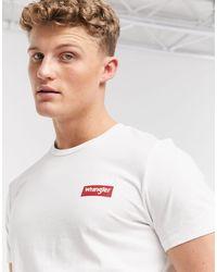 Wrangler T-shirt ras - Blanc