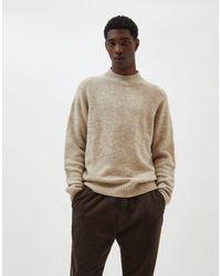Pull&Bear Бежевый Джемпер С Высоким Воротником -светло-коричневый - Многоцветный