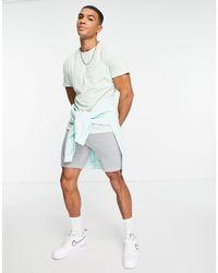 Threadbare Co-ord Short Sleeve Pocket T-shirt - Multicolour